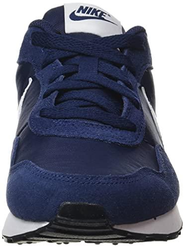 Nike MD Valiant BG, Zapatillas Deportivas, Midnight Navy White Black, 39 EU