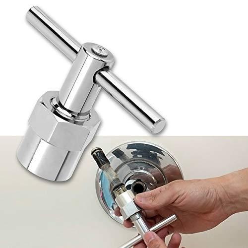 Faucet Cartridge Tool, Premium Alloy Cartridge Puller Tool for Moen Posi-Temp 1200, 1222, 1225, Cartridge Puller for Moen 104421, Shower Valve Cartridge Tool/Cartridge Tool