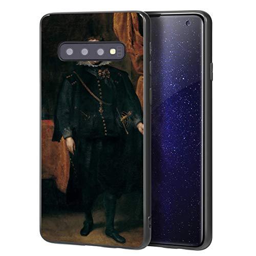 Anthony Van Dyck Para Samsung Galaxy S10 Plus Carcasa/del teléfono celular de arte del teléfono celular de arte/Impresión Giclee en la cubierta del móvil(Diego De Mexía Marquess of Leganes)