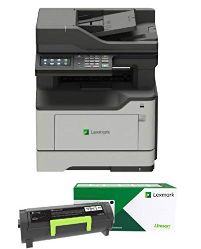 Lexmark MB2338adw Monochrome Laser All-in-One Printer (36SC640) with Automatic Document Feeder and Copy Functions Plus Standard Wi-Fi, Ships with Black Return Program Toner Cartridge