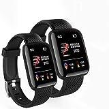 QUANTO Smart Bracelet Men Women D116 Fitness Tracker Heart Rate Monitor Smart Wristb