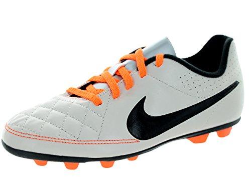 Nike Scarpe Calcio Ragazzo - JR Tiempo Rio FG - 631286-008 - Desert Sand / Black / Atmc Orange-38.5