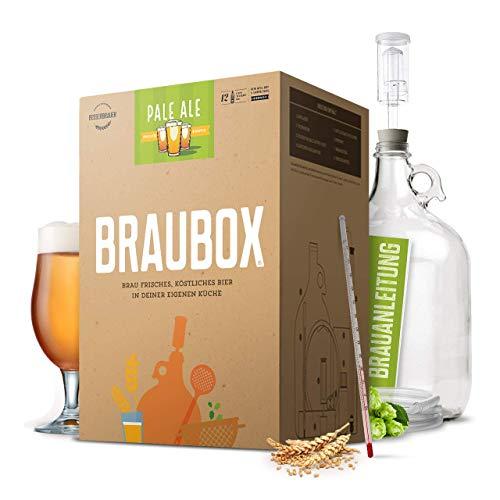 """Braubox®, Sorte\""""Pale Ale\"""" ● Bierbrauset zum Bier brauen in der Küche ● mit Erfolgsgarantie von Besserbrauer"""