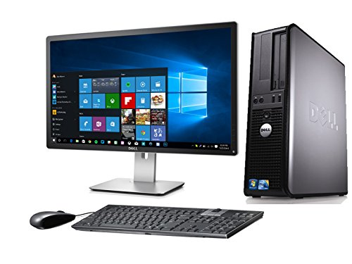 DELL OPTIPLEX 780 DESKTOP CORE 2 QUAD 2.4GHZ 4GB 160GB 22in MONITOR WINDOWS 10 64BIT (Renewed)