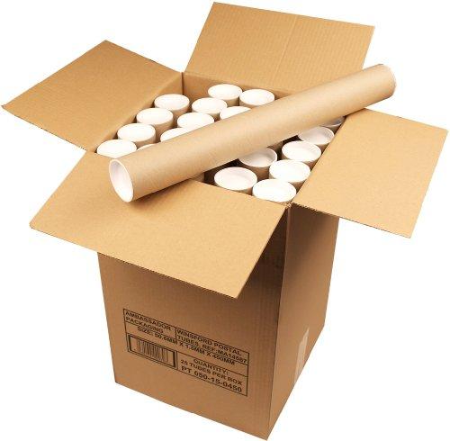 Ambassador Cardboard Postal Tube, 50mm diameter x 450mm (Box of 25)
