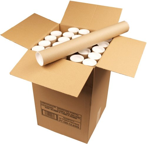 Ambassador Cardboard Postal Tube, 50mm diameter x 450mm (Box of 25)