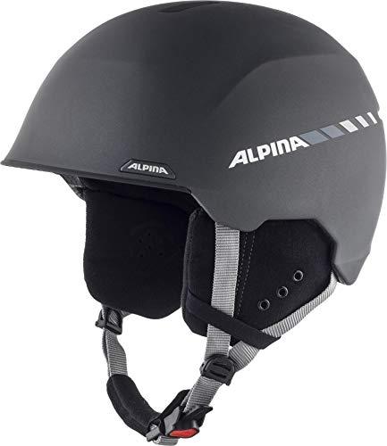 Alpina Unisex-Erwachsene ALBONA Ski- und Snowboardhelm, charcoal matt, 53-57 cm