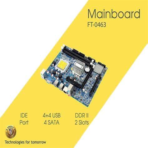 Frontech G31 DDR2 RAM X 2/82801 GB Chipset / 775 Socket Motherboard FT-0463
