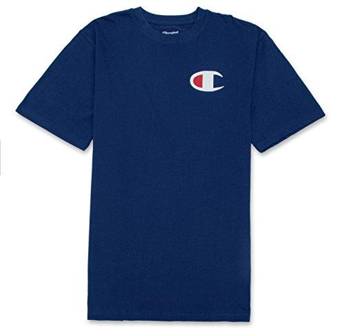 Champion womens Classic Jersey novelty t shirts, Navy, XX-Large US