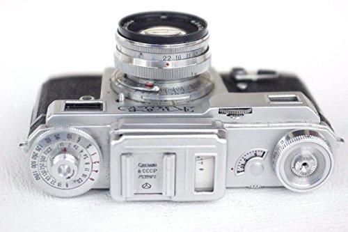 Rare KIEV 4 Russian 35mm Contax Copy 01 Camera + Jupiter-8m Lens 2/50
