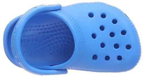 Crocs Classic Clog K Unisex Niños Zuecos, Azul (Ocean), 25/26 EU