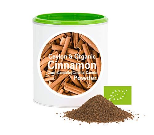 Ceylon Zimtpulver – Bio Zimt gemahlen   bio organic  dried cinnamon  good-superfood von good-nutritions  Zimt  ohne zusatzstoffe + viele Inhaltsstoffe  100g