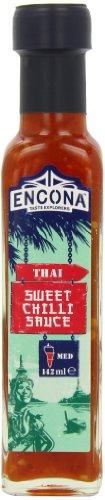 Encona Salsa piccante tailandese dolce pacco da 6 x 142 ml