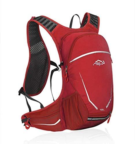 Escursioni sacchetto sigillato esterno alpinista zaino,rosso