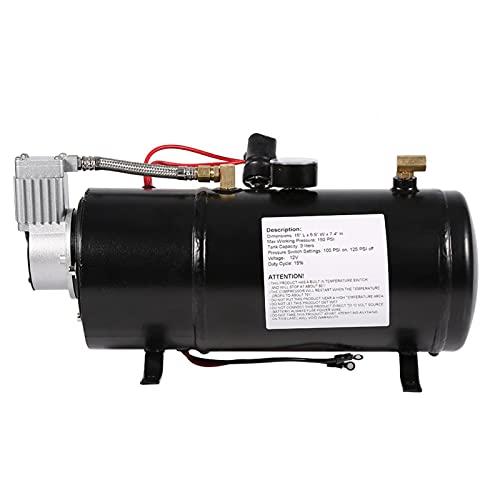 Raguso Bomba De Presión, Compresor De Aire para Neumáticos, Compresor De Aire, Fácil Operación para Otros Inflables para Bicicletas para Neumáticos De Automóviles