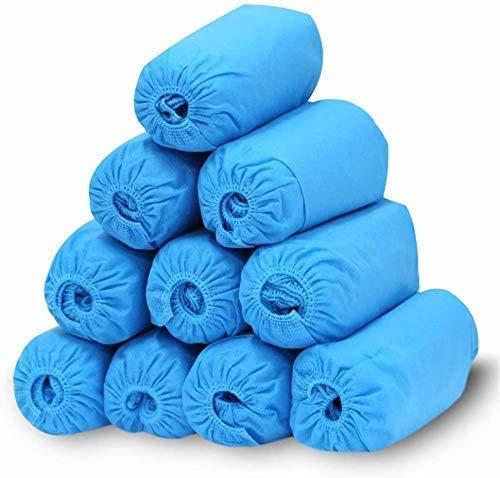 ZLXLX Indoor Schoen Cover Machine Blauw Wegwerp Schoen Cover Non-Woven Schoen Cover Ademend Indoor Stofdicht Anti-slip Doek voor om Tapijten te beschermen &Amp; Vloeren