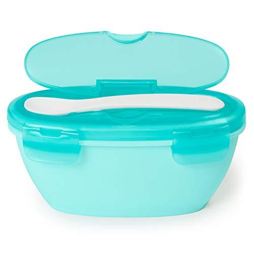 Kit Alimentação Bowl e Colher Azul Easy-Serve, Skip Hop, Azul