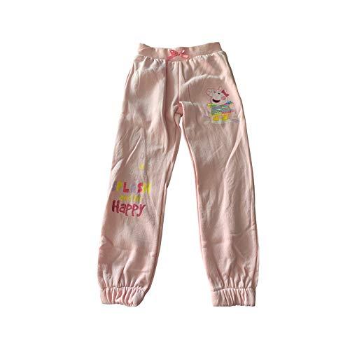 Peppa Pig Kinder Mädchen Jogginghose Sweathose 98-116 Freizeithose Sporthose neu!, Größe:128, Farbe:rosa
