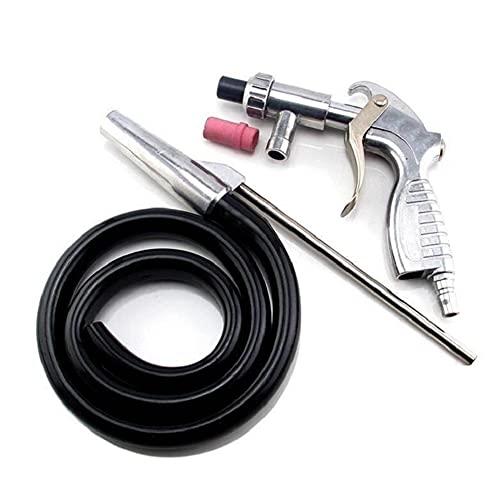JunYeTrading - Kit de herramientas abrasivas para pistola de chorro de arena neumática de mano