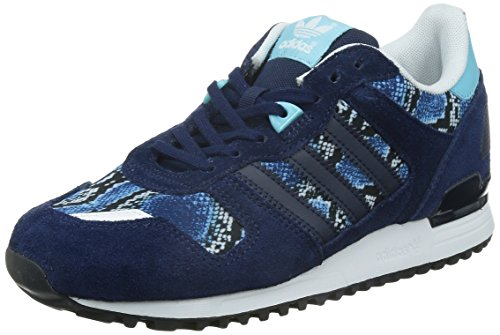 adidas Damen ZX 700 Sneakers, Blau (Night Indigo/Night Indigo/Light Aqua), 40 2/3 EU