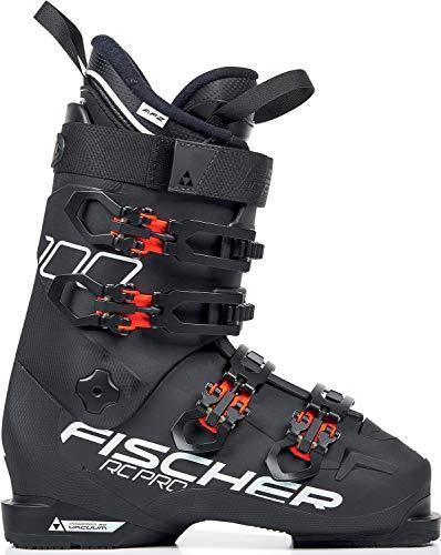 FISCHER Unisex– Erwachsene, schwarz/rot, 29.5 Skischuhe RC PRO 100 PBV, 25.5, 255