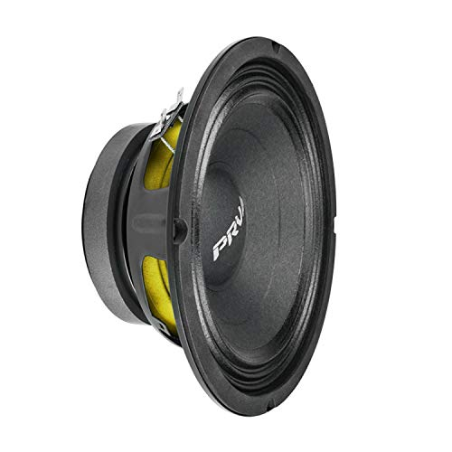 PRV AUDIO 8MB450 v2 8' Mid Bass 8 ohms Pro Audio Speaker 93.5dB 225Watts RMS 2' VC (Single)