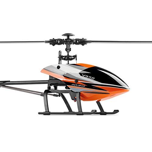 RC Hubschrauber 2.4G 6CH 3D / 6G RC System Frei Geschaltet Hoher Wirkungsgrad Brushless Motor RTF Stärkerer Wind Resistance Spielzeug