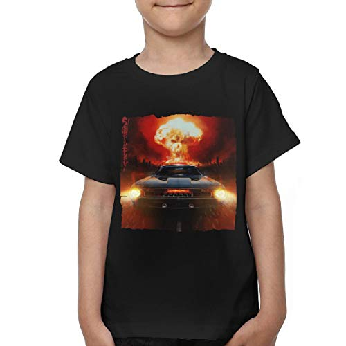 Toddler Sturgill Simpson Sound & Fury Tshirts for Girls & Boys Black 4T