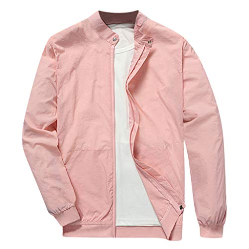 Landscap Men Winter Warm Jacket Overcoat Outwear Slim Fit Zipper Trench Coat Stand Collar Windproof Windbreaker