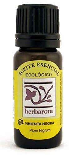Pimienta Negra -Aceite Esencial BIO- 10 ml. Puro 100% Certificado Ecológico ECOCERT