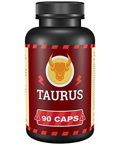 TAURUS - 90 Kapseln I T-Booster I Komplex I Für Bodybuilder I Hochdosiert | Made in Germany