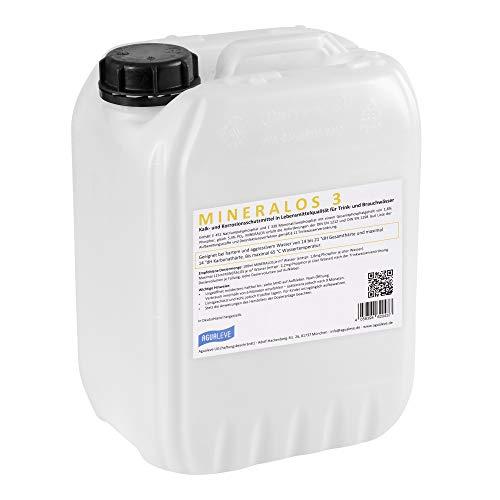 MINERALOS 3 Dosierlösung 10 Liter (Alternative zu BWT Mineralstoff Cillit Quantophos F3 / Impulsan H3)