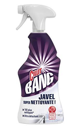 Cillit Bang Nettoyant surpuissant, tâches & Moisissures, avec javel - Le spray de 750ml