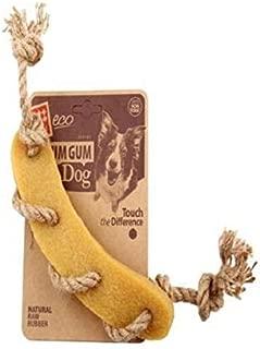 Gigwi Gum Gum Sausage Hemp Rope Dog Toy
