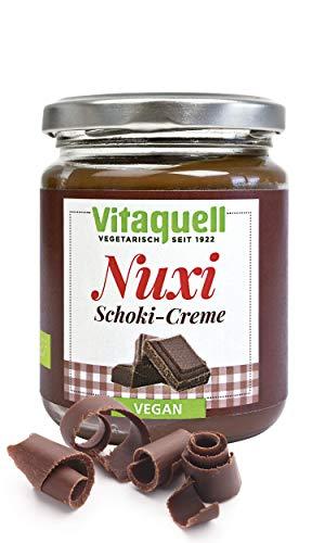 Vitaquell Nuxi Schoki Creme Bio vegan, 250 g schokoladiger Geschmack ohne Nüsse