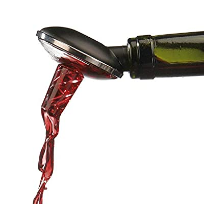 OxyTwister Wine Aerator Pourer, Premium aerating and Decanter spout, Danish Design, Instantly enhances Taste and Purifier, Wine air Aerator.