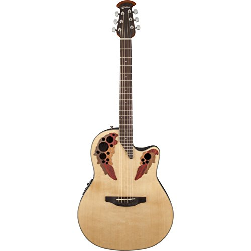 Ovation Celebrity Elite Acoustic-Electric Guitar (Natural)