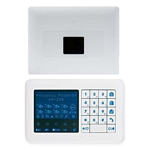 Visonic, 0–103725-kp250, powermaster-33EXP G2Inc kp-250PG22-way tastiera