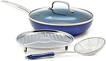 Blue Diamond 4-Piece Ceramic Non-Stick Cookware Set