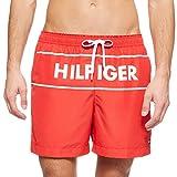 Tommy Hilfiger Medium Drawstring Bañador, Rojo (Red Glare), XXL para Hombre