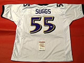 Terrell Suggs Autographed Signed Baltimore Ravens Jersey JSA