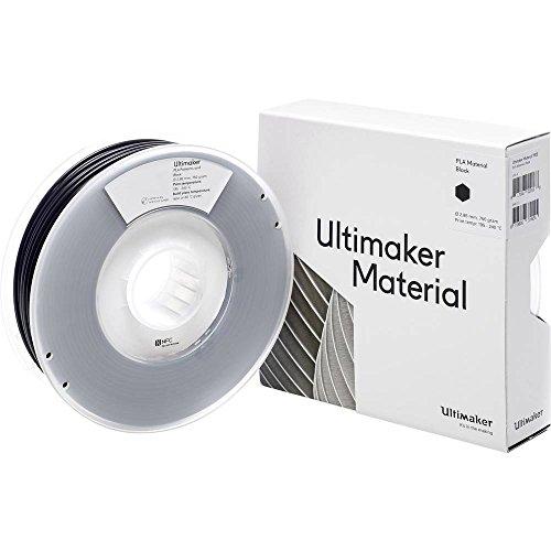 Ultimaker Filament PLA - M0751 nero 750 - 211399 PLA 2.85 mm nero 750 g