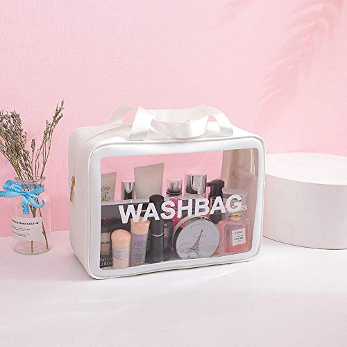 Cosmétique Sac De Mode Transparent Portable Étanche Organisateur Voyage Maquillage Cas 25 * 10 * 17 cm-3_25 * 10 * 17 cm