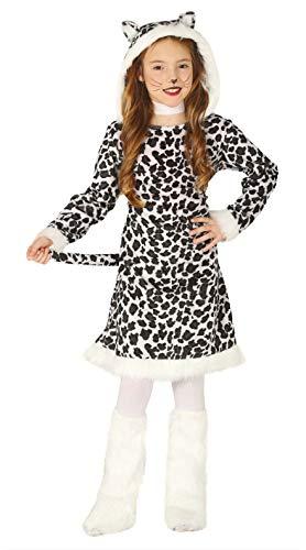 Guirca-88534 Disfraz 10-12añ.Leopardo Vestido+cubrebo, Multicolor (88534)