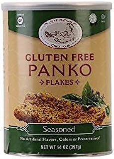 Jeff Nathan Creations Chef Gourmet Panko Seasoned Gluten Free, 14 Ounce