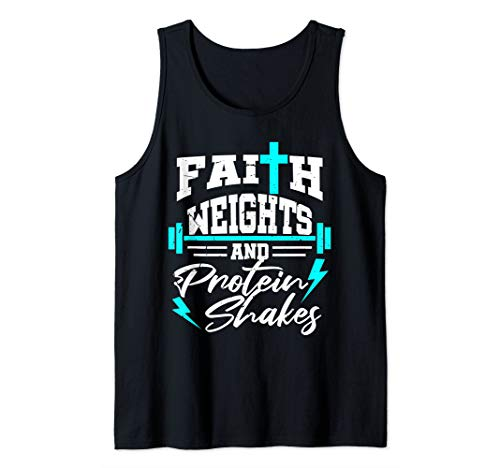 Christian Workout Fitness Weightlifting Body Building Gift Tank Top