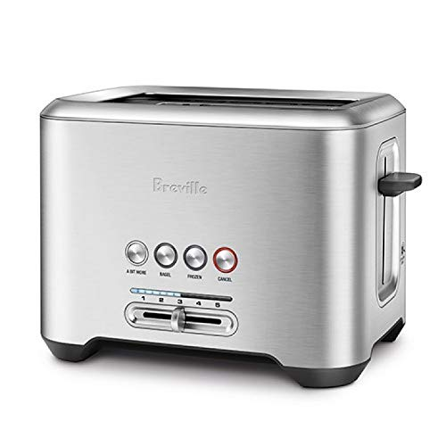 Breville BTA730XL The Bit More 4-Slice Toaster, Stainless Steel