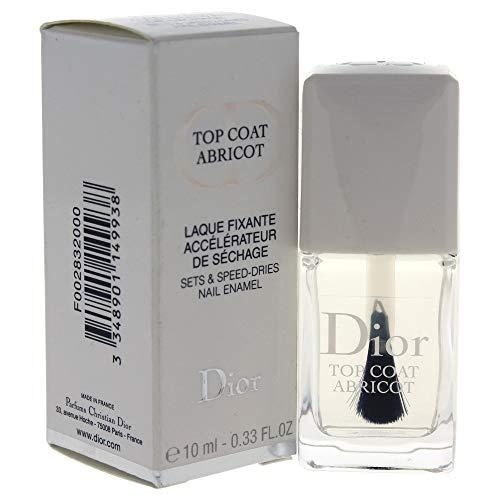 Dior Collection Ongles Vernis Top Coat Abricot, 1er Pack (1 x 1 Stück) 10 ml