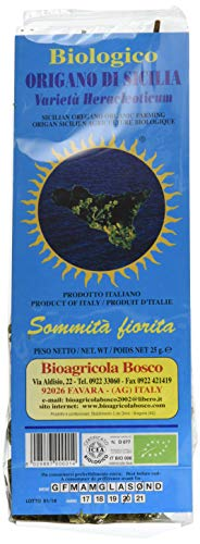 Bioagricola Bosco Steli di Origano - 12 Confezioni da 25 gr