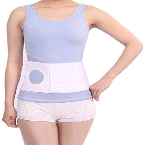 Bolsa de colostomía, cinturón de soporte de la bolsa de la ostomía transpirable ajustable para el cuidado postoperatorio de la cirugía anorrectal, la cintura posterior a la cirugía para los hombres y